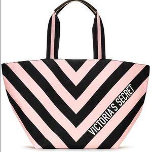 Victoria's Secret Limited Edition Striped Tote